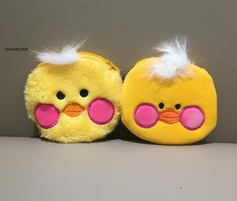 10cm Cute Yellow Ducks Womens Coin Purse Pocket Coin Bag Pouch Girls Small Coin Wallet Methodical 2designs