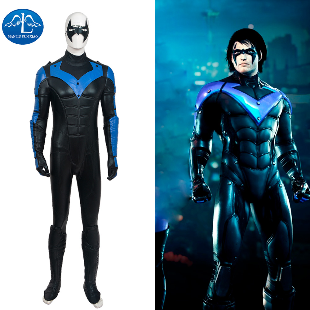 Popular Nightwing Costume-Buy Cheap Nightwing Costume lots from ...
