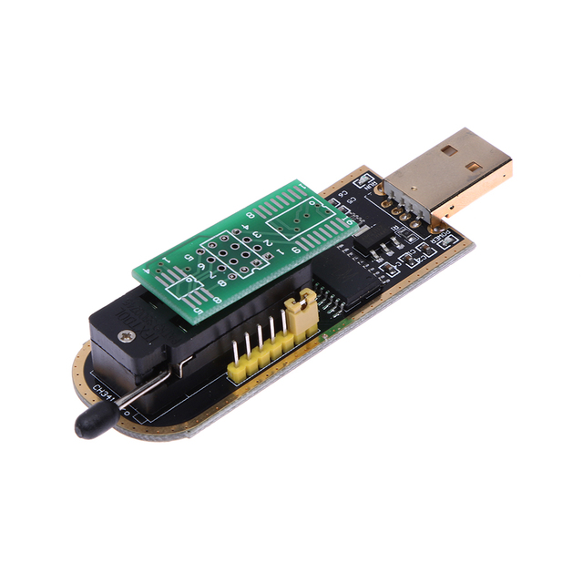 US $2 72 5% OFF USB Programmer CH341A Series Burner Chip 24 EEPROM BIOS  Writer Support 24EEPROM and 25 SPI flash 8pin/16pin chip-in Networking  Tools