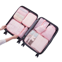 8PCS Light Travel Organizer Pack