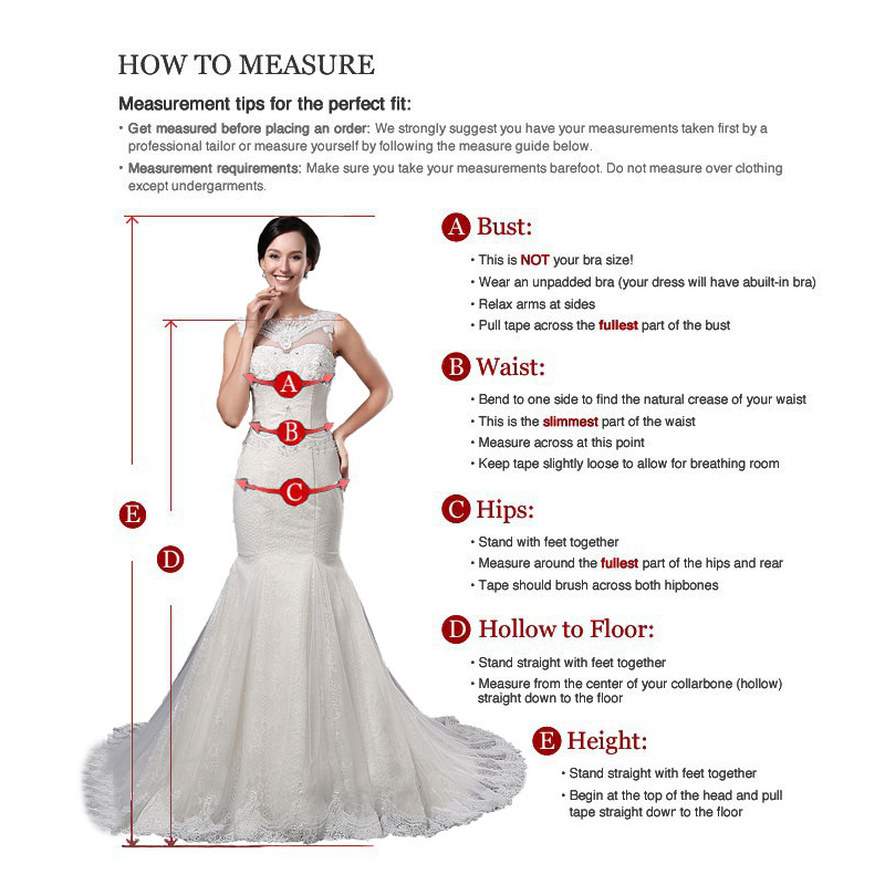 wedding measure