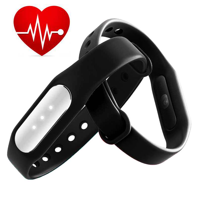 Original Xiaomi Mi Band 1S sports counter pulse miband HR heart rate Sleep Monitor Smart Bluetooth Wristband Bracelet MiBand - Street No.17 Store store