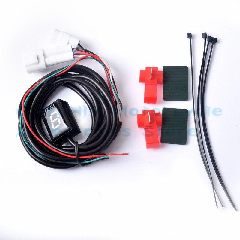 For Yamaha XV950 Bolt XVS950A Midnight Star XVS 950A XVS 950A XV 950 A 2009-2016 Moto LCD 1-6 Level Digital Meter Gear Indicator
