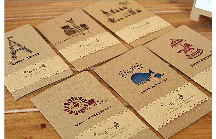 Creative Krafts Greeting Cards(12pcs/lot)Wedding Invite