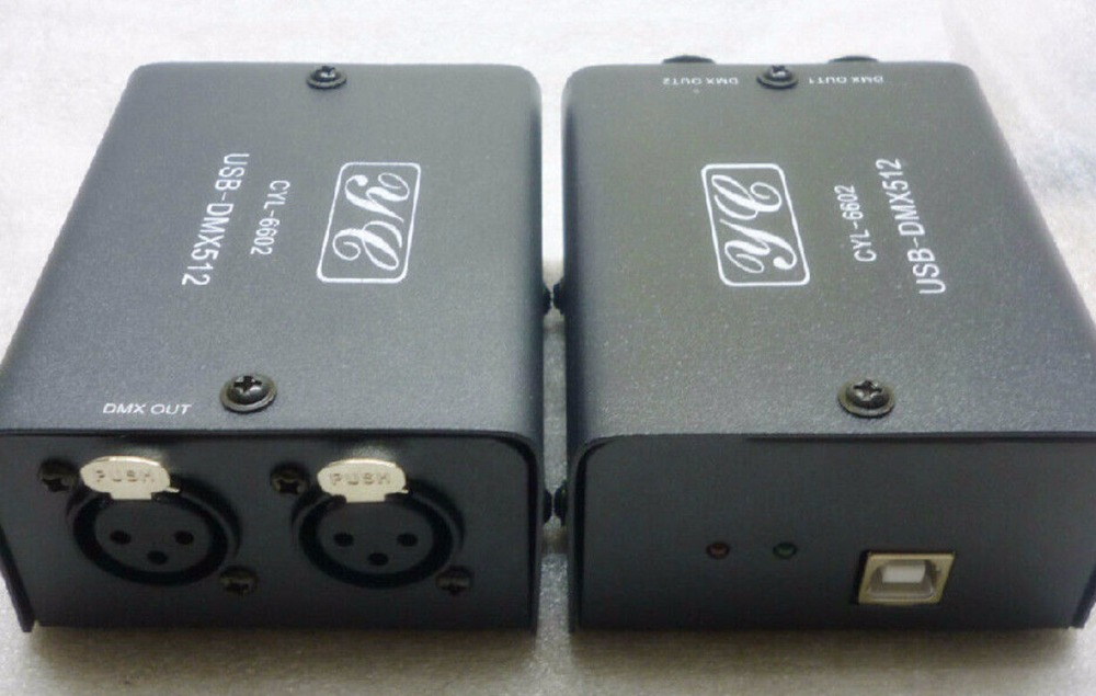512 Channel USB to DMX DMX512 LED light DMX Stage Lighting Controller Daslight