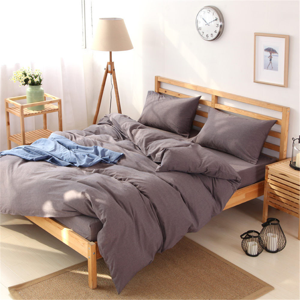 popular unique bed sheet setsbuy cheap unique bed sheet sets lots  - unique vogue minimalist sweet korean style pure cotton double queen kingsize bed sheet pillowcase quilt