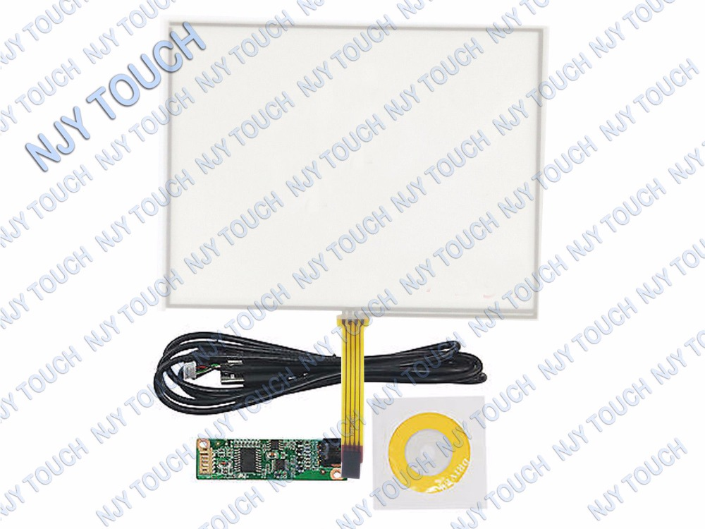 9 7inch 4 Wire Resistive Touch Screen 210x164mm with USB Controller for 9 7 LCD Panel
