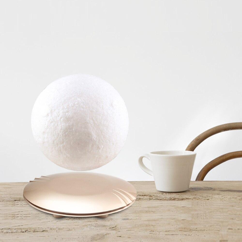 3D Afdrukken Maan Lamp Levitating 7 Kleuren Veranderende LED Nachtlampje voor Thuis Kerst Decoratie 45 - 6