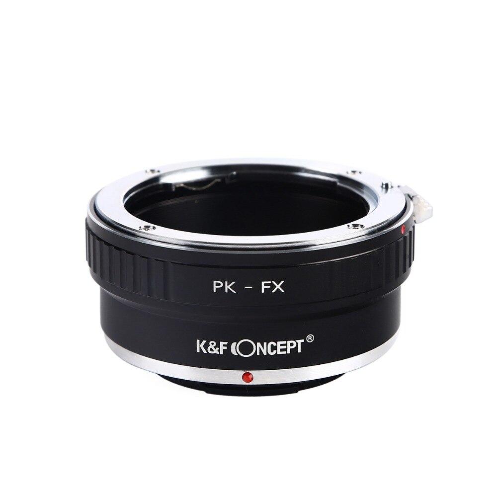 PK-FX Numérique Bague D'adaptation D'objectif pour Pentax PK K Mount Lens pour Fujifilm Fuji FX X-Pro1 X-E1 X-M1 Caméra Photographie accessoires
