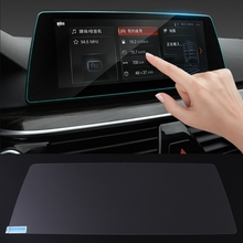 Free shipping High Quality New Auto Car Tempered Glass GPS Navigation Screen Protector Case For BMW