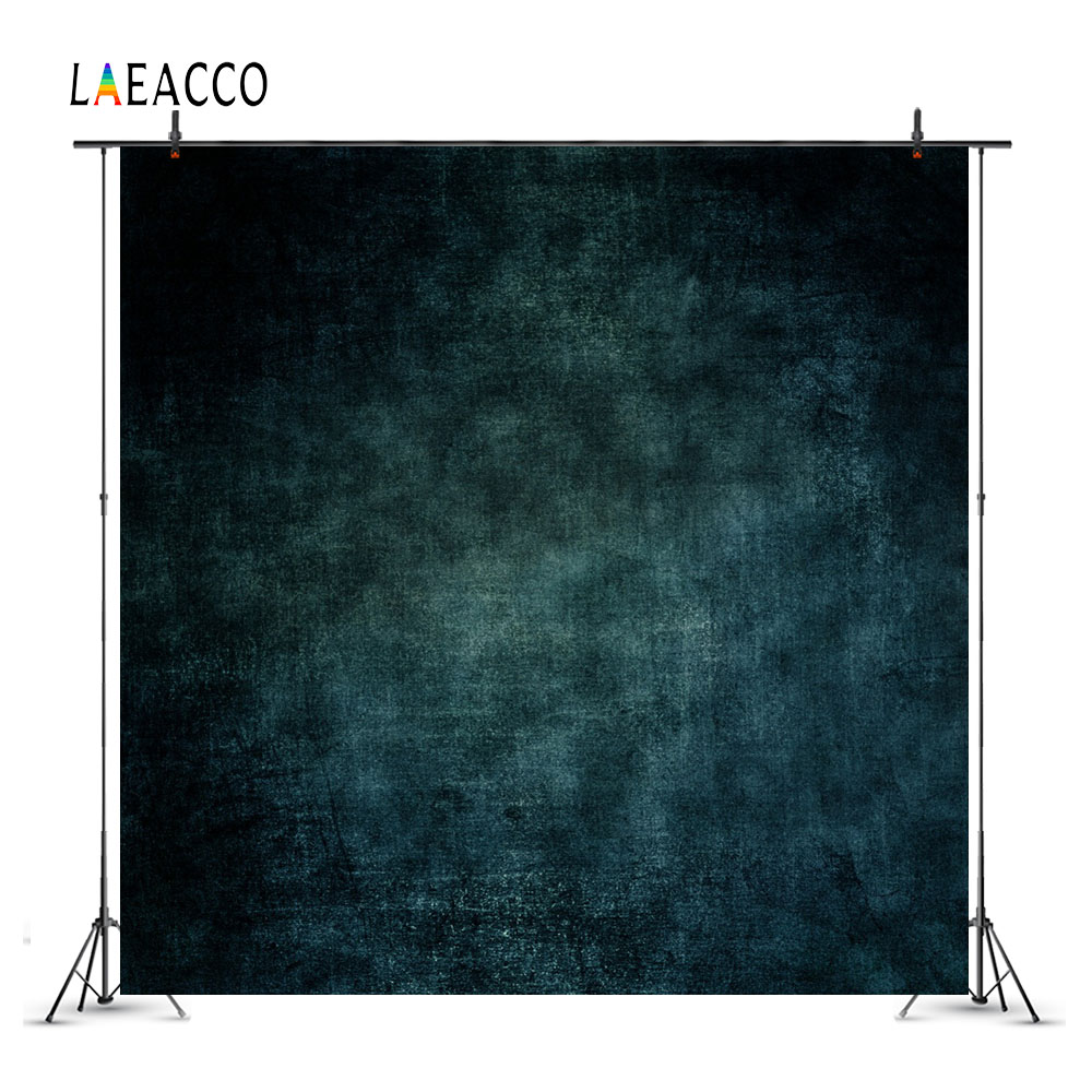 Laeacco Grunge Gradient Texture Dark Portrait Baby Photography Backgrounds Customized Photographic Backdrops For Photo Studio цены
