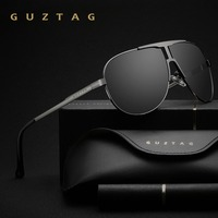 GUZTAG Brand Fashion Classic Polarized Sunglasses Men S Designer HD Goggle Integrated Eyewear Sun Glasses UV400