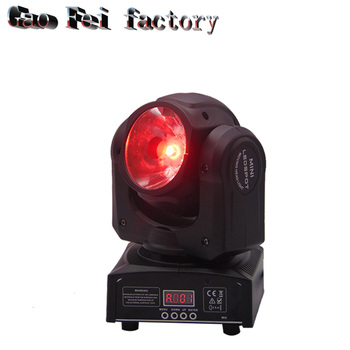 60w RGBW 4in1 Led Beam Light DMX512 จอแสดงผล LED Moving Head ระดับมืออาชีพ DJ/บาร์/ปาร์ตี้/ แสดง/เวทีแสง LED เครื่อง