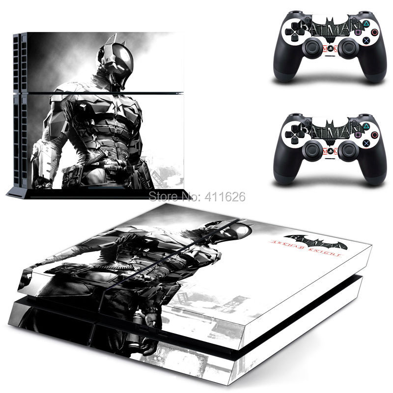 newest protective game decal skin sticker for PS4 console and controllers one piece free shipping