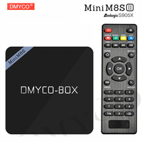 Mini M8S II Android Tv Box Amlogic S905X Quad Core Android 6 0 2GB 8GB WiFi