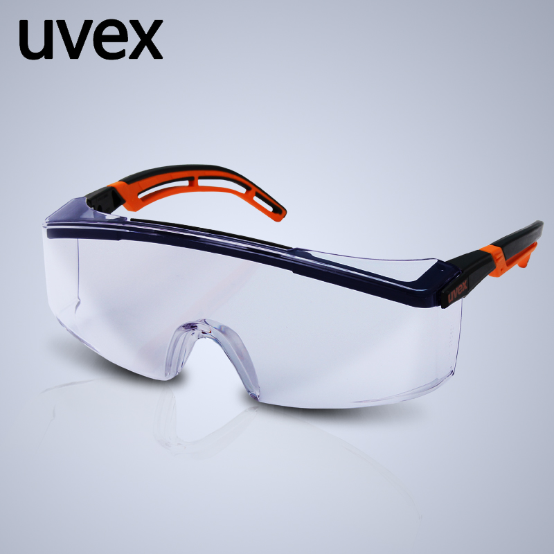UVEX Original 9064185 Safety Goggles Clear Lens Anti-shock Supravision Coating Anti-splash Polished Glasses Protector YU008