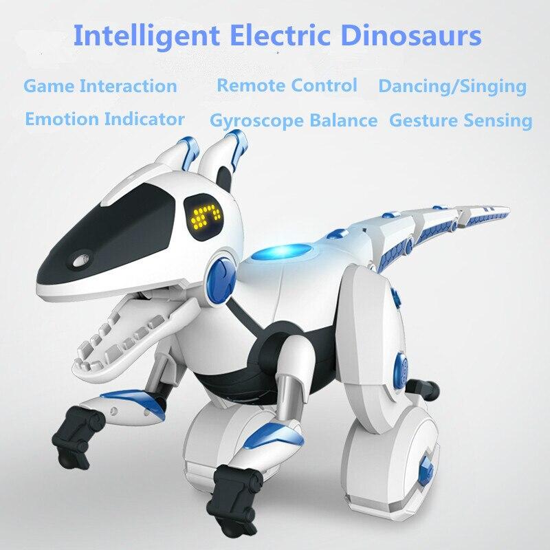 Mécanique télécommande Balance dinosaures 28308 détection Interactive danse RC Animal interactif Intelligent dinosaure Robot