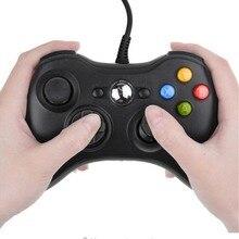 ذراع تحكّم سلكيّة كابل يو اس بي غمبد ل مايكروسوفت XBOX 360 وحدة التحكم السلكية جويستيك ل XBOX360 أذرع التحكم في ألعاب الفيديو غمبد Joypad