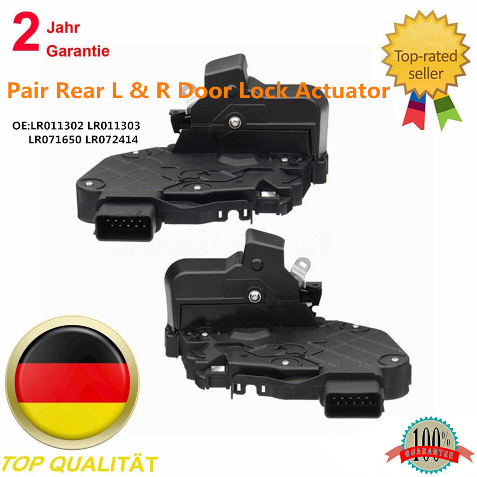 AP03 Rear Left+Right Door Lock Actuator For Land Rover Discovery 3 4 MK3 MK4 Range Rover  LR011302 LR011303 LR071650 LR072414
