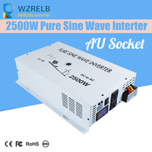 Reliable Auto Modified Sine Wave Voltage Continuous Power 2500wTransformer Solar Inverter Converter