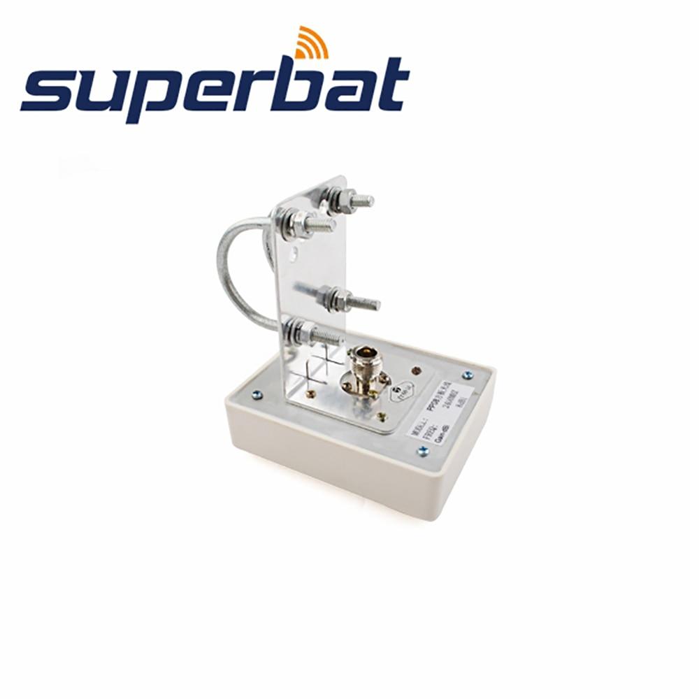 Superbat 2.4GHz 8dBi WiFi Antena de panou direcțională Booster aerian N Conector jack feminin 50 Ohm 10.4 * 8.5 * 3cm