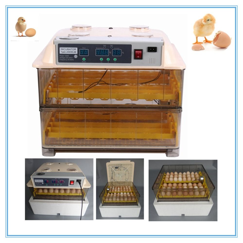 2017 Hot Selling  Mini Egg Incubator  96 Eggs Automatic Poultry Chicken Hatcher Machine high quality best selling mini industrial egg incubator of 48 eggs for sale commercial hatcher incubadora de huevos automatica