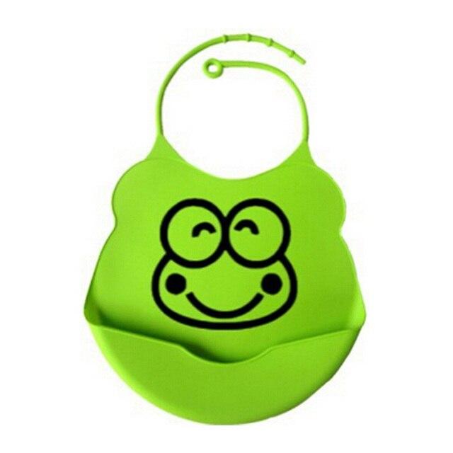 UNIKIDS 2015 new design Baby bibs waterproof silicone feeding baby saliva towel wholesale newborn cartoon waterproof aprons Baby