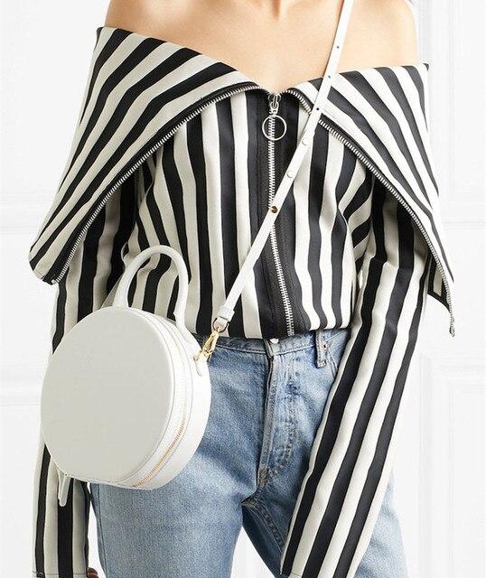 Женская круглая сумка мессенджер, брендовая элегантная сумка из искусственной кожи высокого качества, 2019