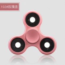 Free Shipping Spinner Hand Compressive Rotate Toy for Adult Children Toy Hand Spinner Fidget Pink Gold Black Navy blue Silver