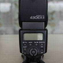 Used,Canon Speedlite 430EX II Flash for Canon Digital SLR Ca