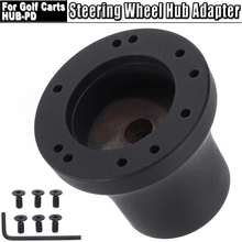 Black Steering Wheel Hub Adapter Fits For Golf Carts HUB-PD