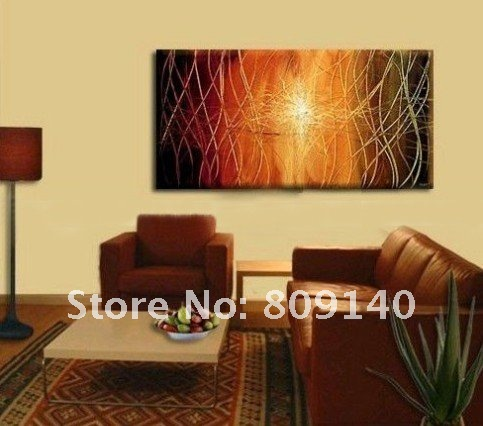 Decoration Oil Painting Canvas Abstract Modern Art 005 High Quality  Handmade Home Office Hotel Wall Art Decor Gift New Free Ship