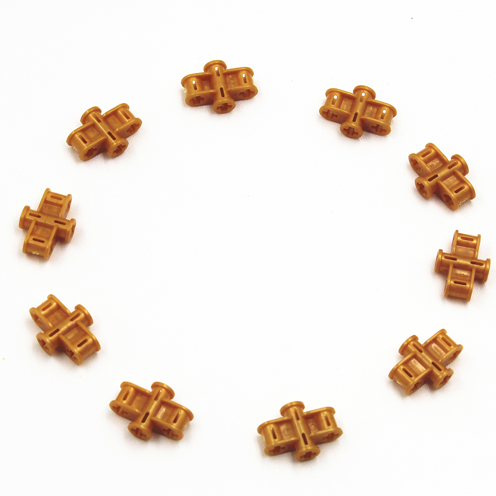 Blocos de construção moc técnica peças 10 pçs bloco transversal 3x2x1 compatível com lego para crianças meninos brinquedo moc6022718