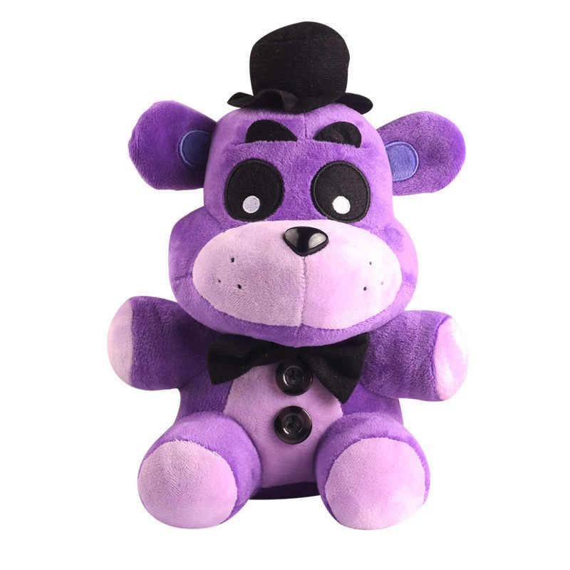 18 cm Fazbear FNAF Cinco Noites Em Ouro do Freddy Freddy Pesadelo Fredbear Mangle Foxy BB menino do Balão Palhaço de Pelúcia brinquedos