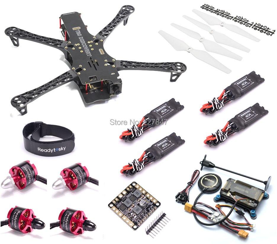 X500 500 500-V2 FPV Quadrocopter Alienígena Quadro 500mm 2212 Do Motor 920KV APM2.8 8N GPS para GoPro Multicopter TBS BlackSheep