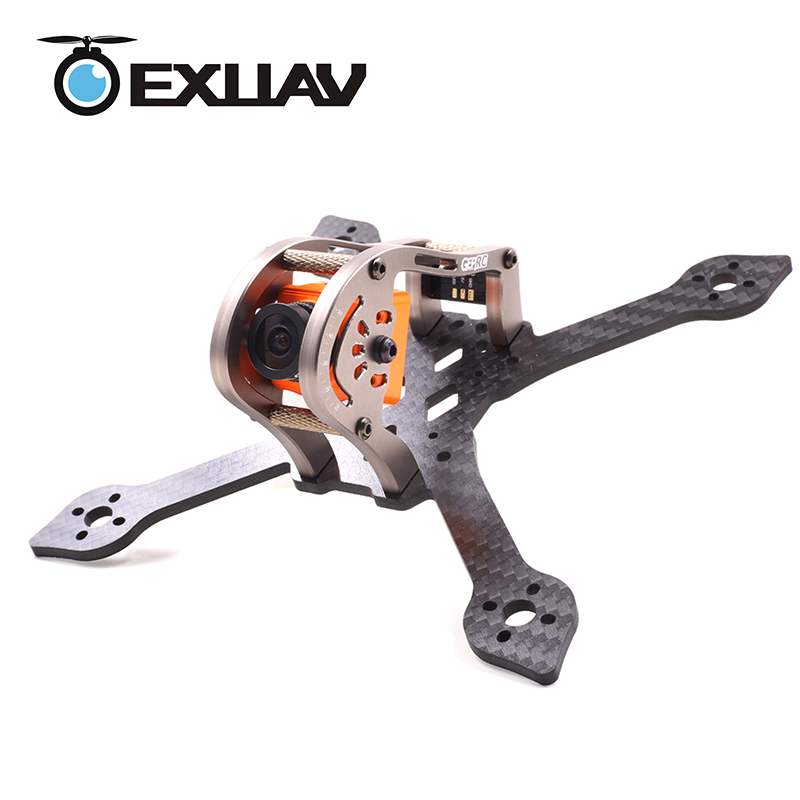 EXUAV SPARROW GEP-MX3 139mm 3 inch X-Type Carbon Fiber Racing Drone Frame Kit for RC FPV Mini DIY Quadcopter Helicopter Toys ormino fpv camera drone carbon fiber mini frame fpv quadcopter rc drone gep rx5 hawk for f3 f4 naze32 cc3d flight controller