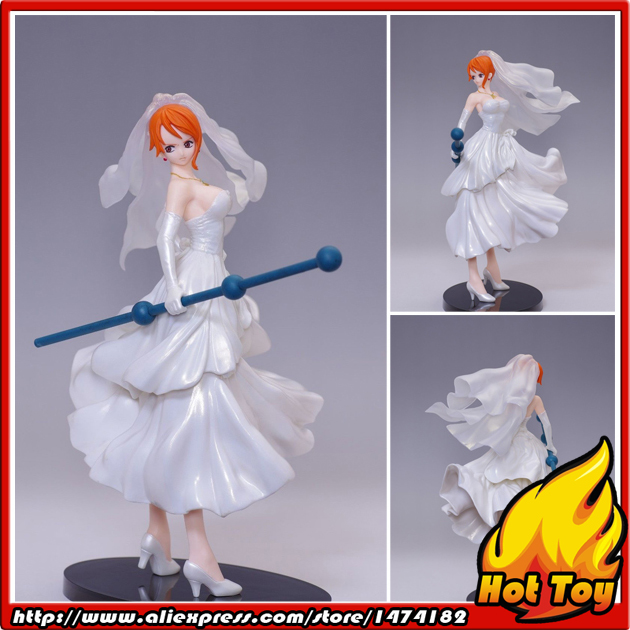 100% Original BANPRESTO SCultures BIG Zoukeiou 4 Vol.2 Collection Figure - Nami (wedding veil Ver.) from One Piece powers the definitive hardcover collection vol 7