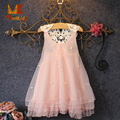 Monkids 2017 Brand Girls Dress Pink Lace Tutu Costume Summer Princess Dresses For Girls Kids Clothes Girls Clothing