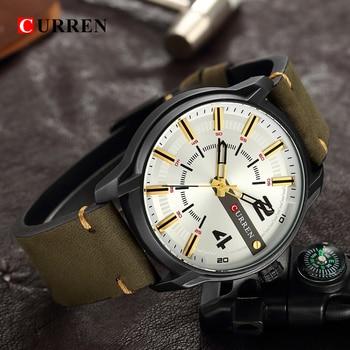 CURREN Men's Luxury Military Male Quartz Watches 3