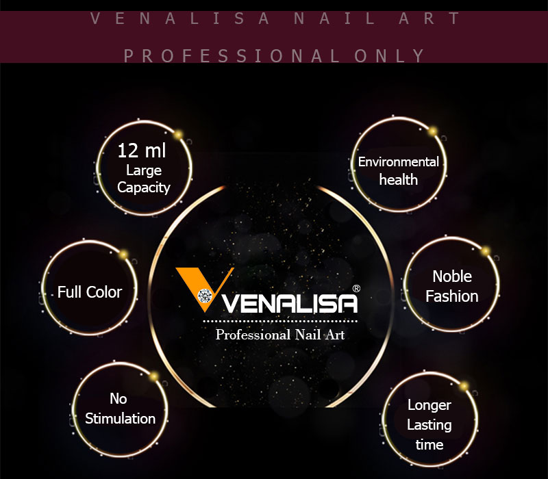 Venalis Factory Supply New 24Colors 15ml Nail Art Beauty Soak off UV LED Color Painting Design Nails Gel Polish Vernish Lacquers