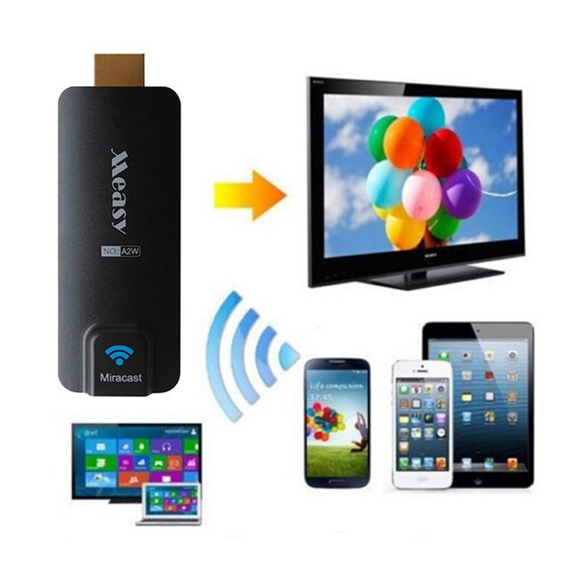 Measy A2W Miracast 1080 P HDMI TV Receptor Wifi Exibição Dongle Receptor Adaptador EZCast AirPlay Chromecast para Android IOS do WINDOWS