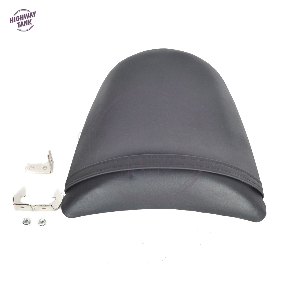 Motorcycles Rear Seat Cover Motocross Racing Passenger Seat Cushion Covers Case for KAWASAKI ZX-6R 03-04 / Z1000 03-06 / Z750