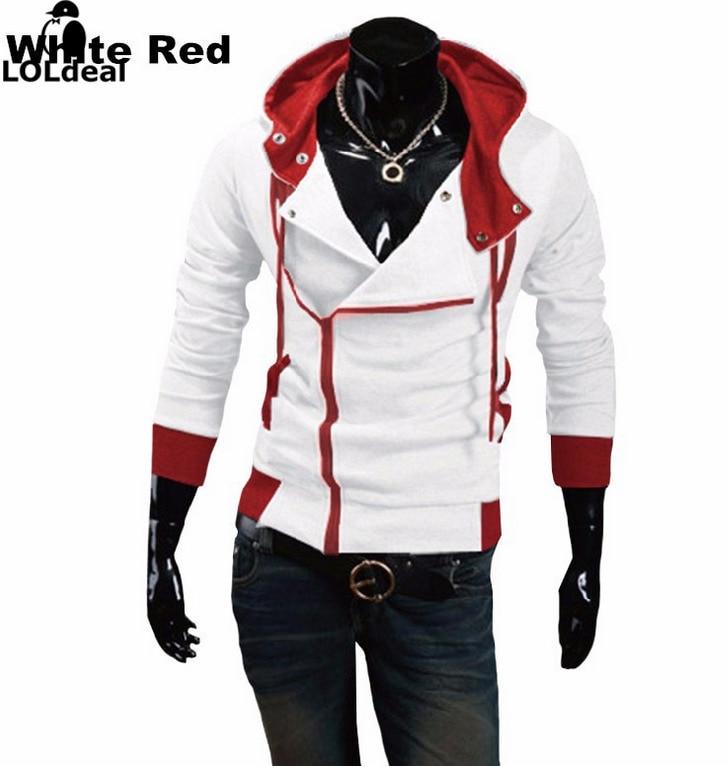 Loldeal أزياء العلامة التجارية هوديي الرجال عارضة الملابس الرياضية الرجل هودي زيبر كم طويل البلوز يتأهل هوديي M-6XL (حجم الآسيوية)