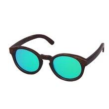 e4749a195ddf9 Tnkl quadro de tingimento bambu do vintage óculos polarizados unisex  condução óculos de sol para as mulheres praia anti-uv óculo.