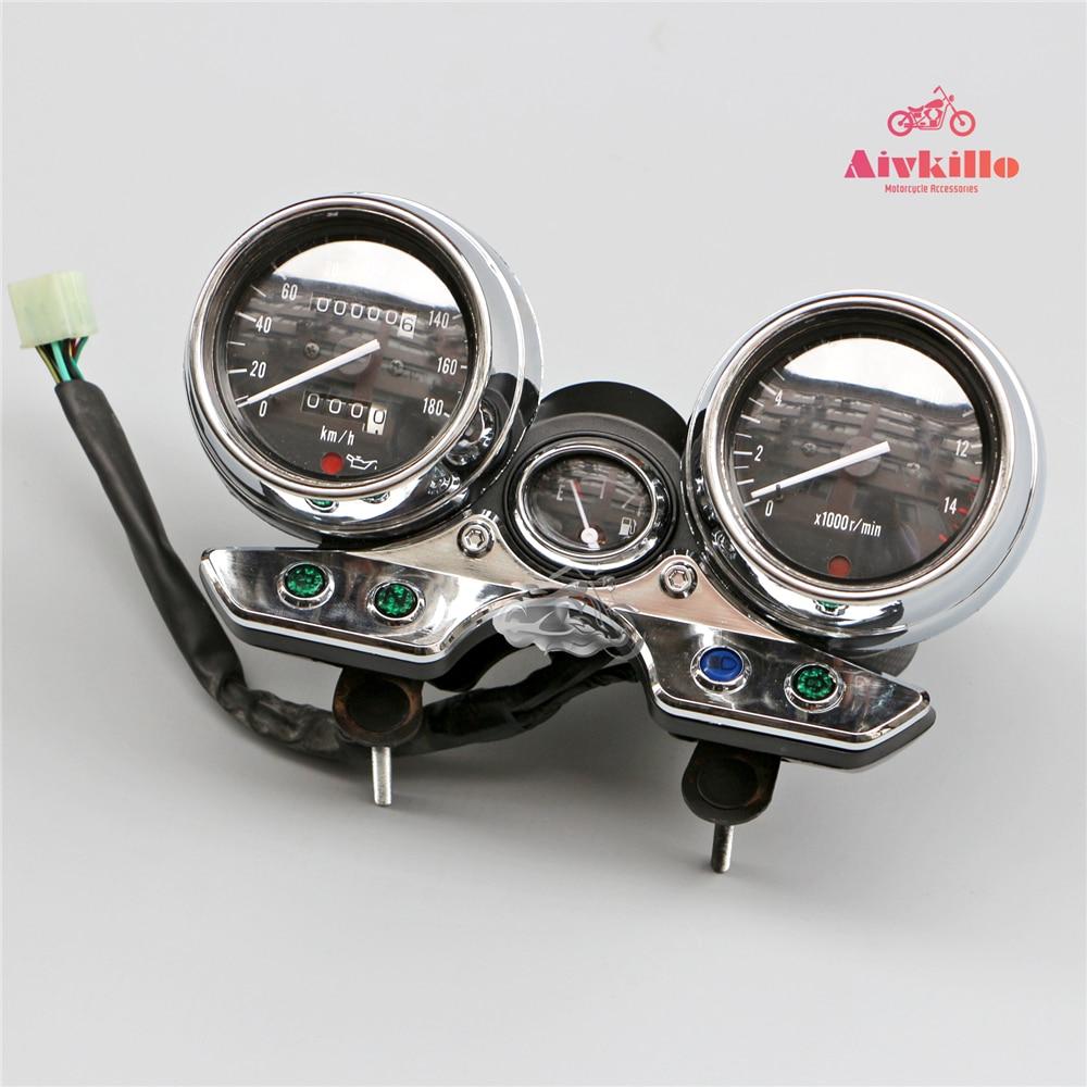 Prędkościomierz obrotomierz wskaźniki Instrument dla Suzuki GSX250/400/750 Inazuma GK7AB
