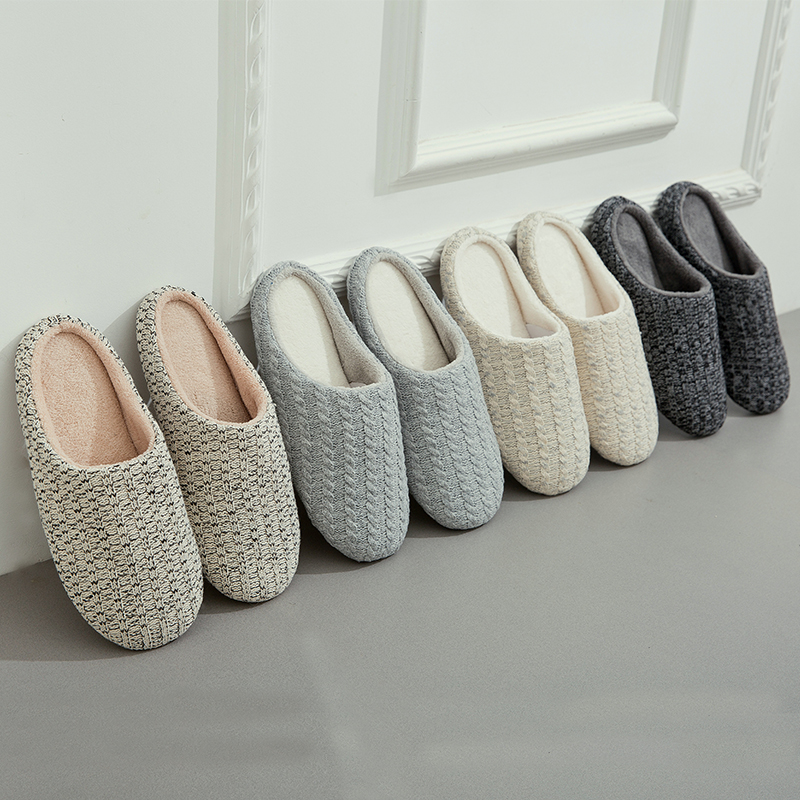 2018 Women Slippers Winter House Slippers Cashmere Comfort Wool Warm Home Slippers Indoor Bedroom Shoes Couple Zapatillas Mujer bow slippers women winter warm slippers ladies flats shoes women indoor home slippers home shoes for women zapatillas mujer 2018