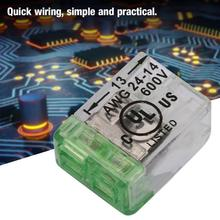 delta asda a2 series servo driver cn1 terminal board terminal block asd bm 50a with 0 5m cable 10pcs AWG24-14 Compact Wire Fast Wiring Connectors Push-in Conductor Cable Terminal Block Conductor Terminal