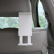 Auto universal car interior del vehículo trasero asiento trasero del sostenedor del montaje para la tableta de 125-205mm ancho soporte para ipad 2/3/4/5
