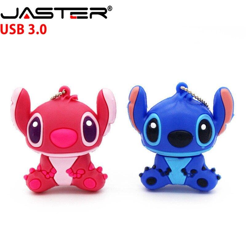 JASTER Hot Sale High Speed USB 3.0 Flash Drive 4GB 8GB 16GB 32GB 64GB Cartoon History Di Kid Real Capacity USB 3.0 Memory Stick