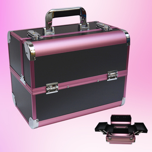 Image 4 - נייד תיק קוסמטי מזוודות איפור יופי מקצועי רב פונקצית לקוסמטיקה קעקוע גבות מורה מניקור מקרה